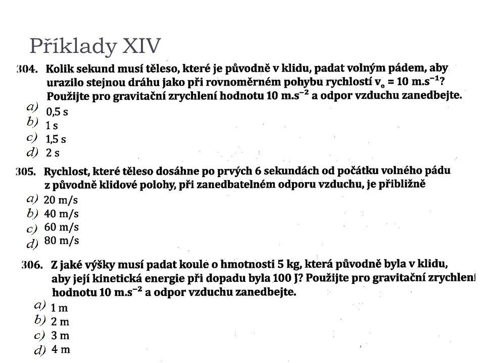 Příklady XIV