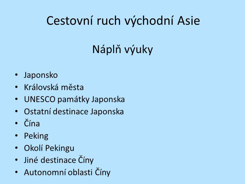 Japonsko Hlavní město: Tokio Státní zřízení: konstituční monarchie Jazyk: japonština obr.