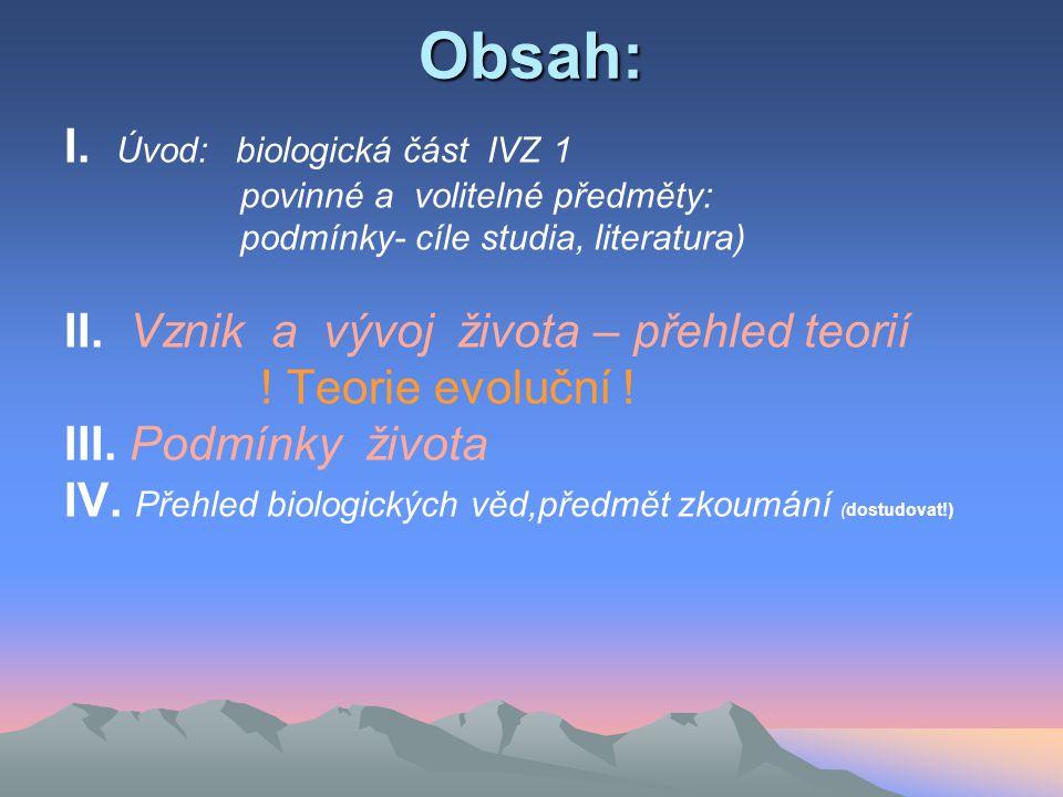FAKTORY ABIOTICKÉ: FAKTORY ABIOTICKÉ: - KLIMATICKÉ - = teplo, světlo, - KLIMATICKÉ - energetické = teplo, světlo, - = voda - atmosférické = chemické a fyzikální = voda srážky, vlhkost a proudění vzduchu, živiny srážky, vlhkost a proudění vzduchu, živiny = klimatologie, meteorologie = klimatologie, meteorologie - TOPOGRAFICKÉ (vegetační zóny-místo k žití ) = geografie - TOPOGRAFICKÉ (vegetační zóny-místo k žití ) = geografie - PEDOLOGICKÉ (živiny, místo k žití =půda) = pedologie - PEDOLOGICKÉ (živiny, místo k žití =půda) = pedologie Soubor podmínek, vytvářejících prostředí se nazývá BIOTOP = STANOVIŠTĚ BIOTOP = STANOVIŠTĚ TŘÍDĚNÍ ROSTLIN DLE NÁROKŮ NA STANOVIŠTĚ Využití: pěstování rostlin (dostudovat z textů Word a cvičení TPAE) FAKTORY BIOTICKÉ: organismy a vztahy mezi nimi organismy a vztahy mezi nimi Soubor živých soustav v biosféře je označován termínem BIOTA systém biologických věd – dostudovat!