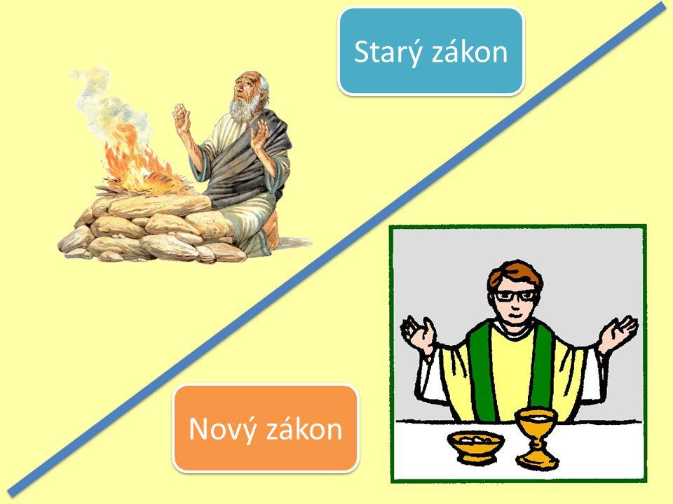 Nový zákon Starý zákon
