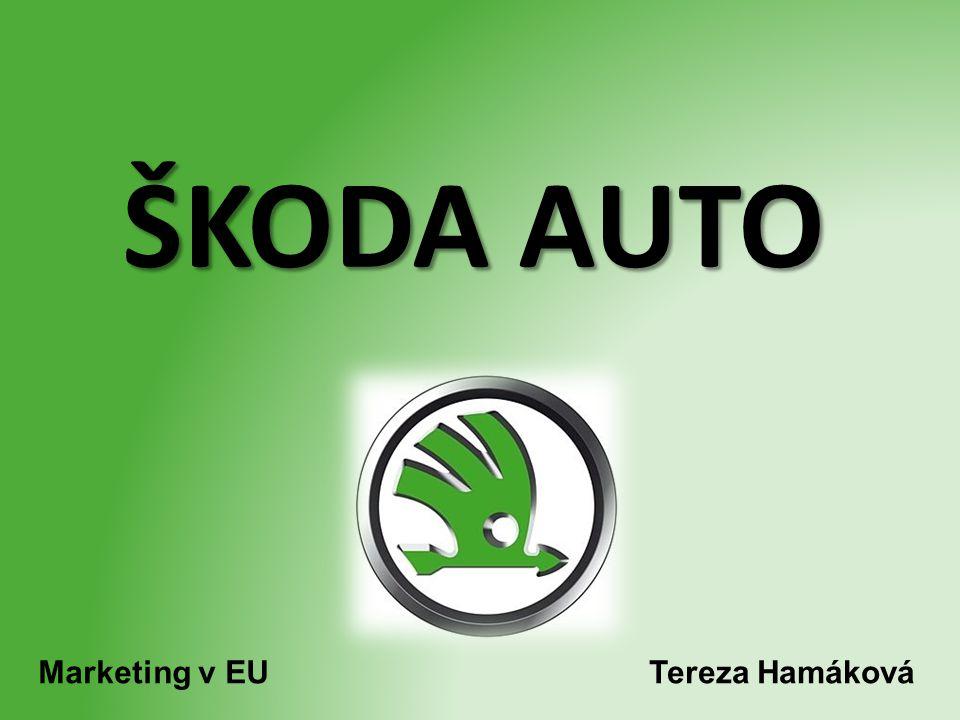 ŠKODA AUTO Tereza HamákováMarketing v EU
