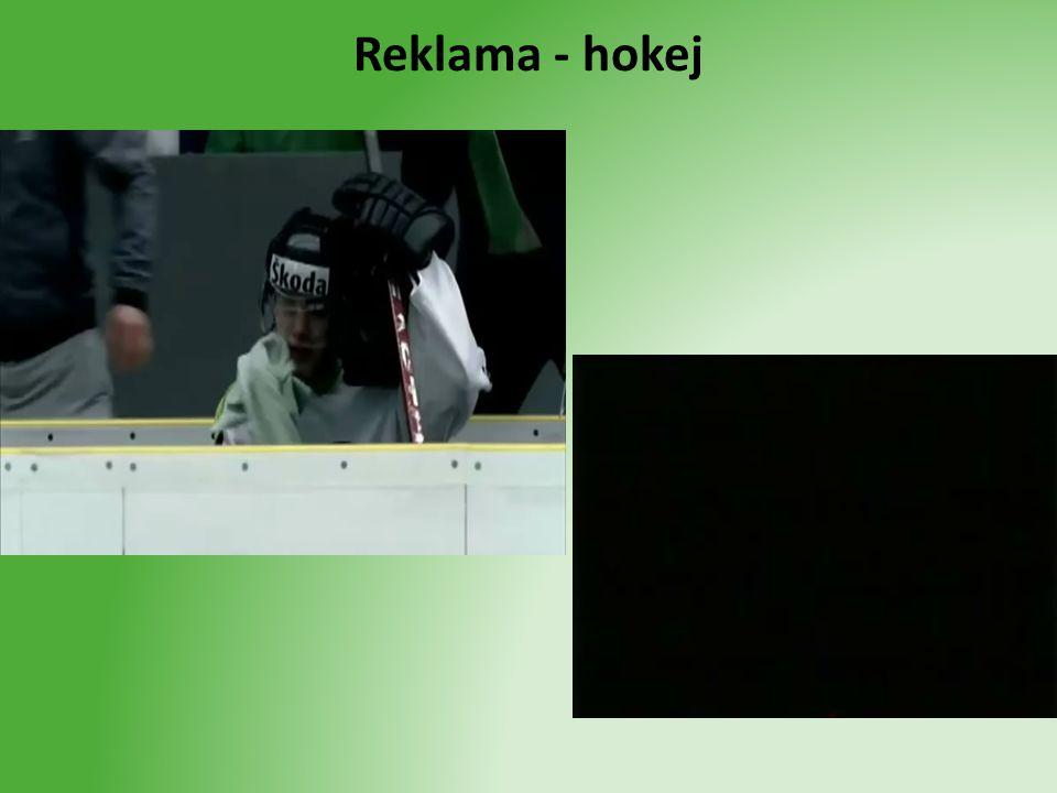 Reklama - hokej