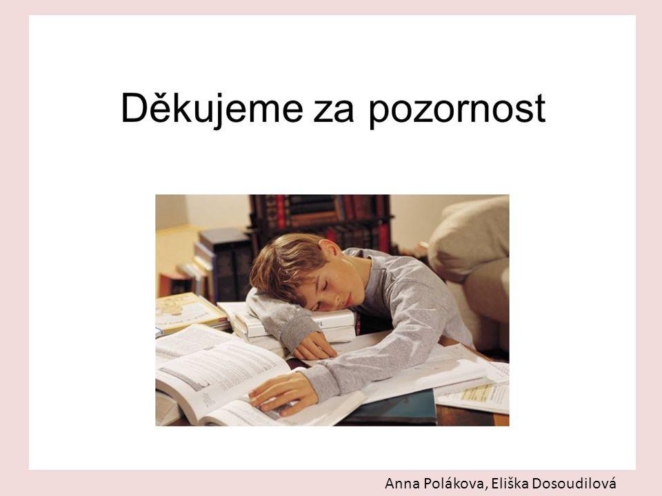 Anna Polákova, Eliška Dosoudilová