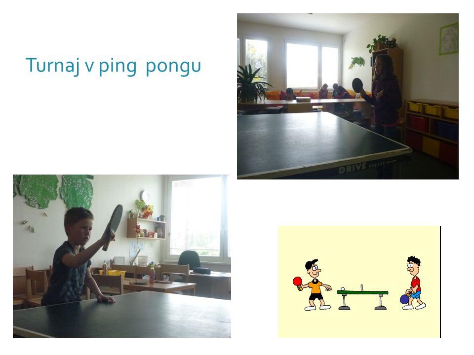 Turnaj v ping pongu