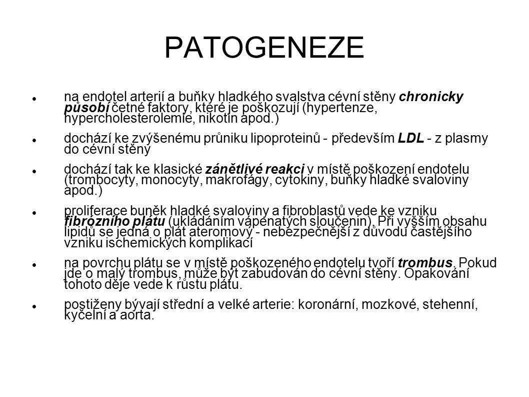 Metabolický syndrom Původní definice WHO (1991): - nejméně 1 z: DM 2.typu, porušená glukózová tolerance, inzulinová rezistence - + nejméně 2 z: hypertenze, obezita, zvýšené TG nebo nízký HDL, mikroalbuminurie - není nutné, ale může být součástí: hyperurikémie, hyperkoagulabilita, hyperleptinémie