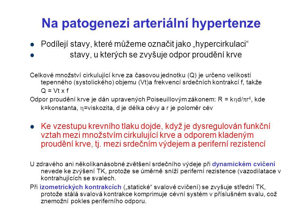 Snížení srdeční kontraktility (ztráta kardiomyocytů, jejich dysfunkce, fibróza myokardu, nahromadění amyloidu) Nadměrné tlakové zatížení (náhlé  afterloadu) (při masivní embolii do a.