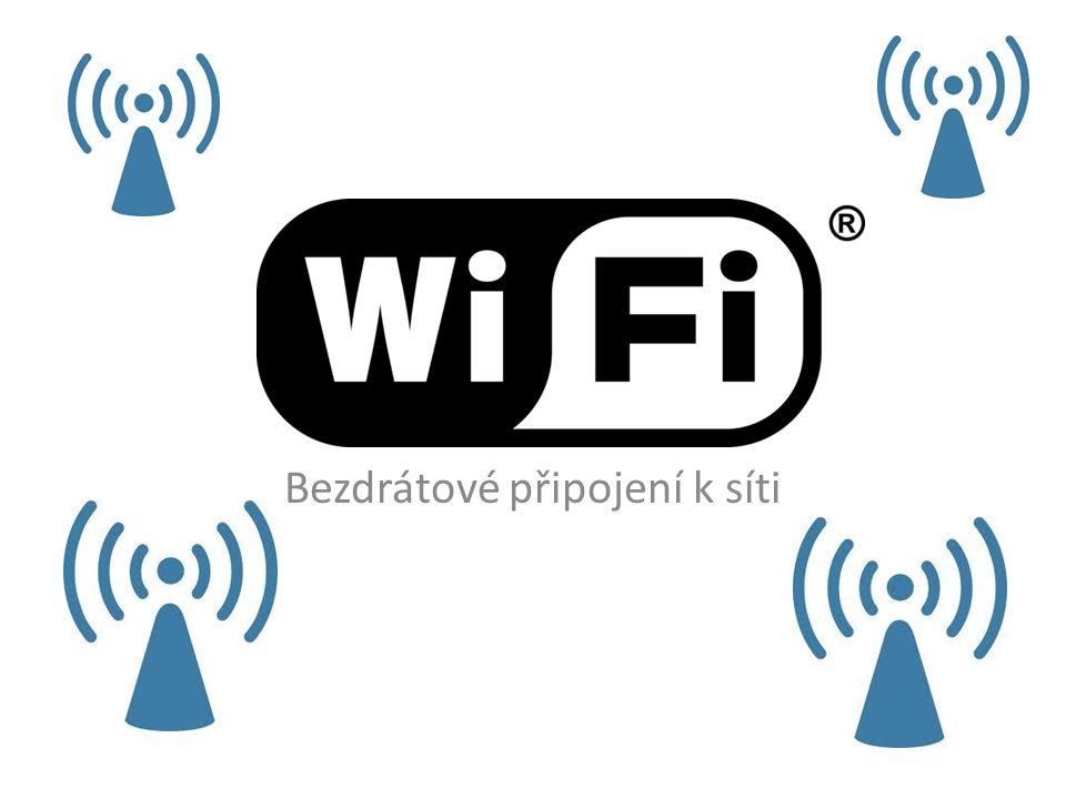 WiFi Bezdrátové připojení k síti