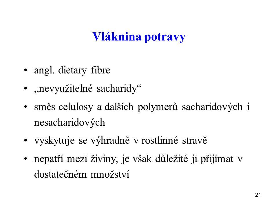 21 Vláknina potravy angl.