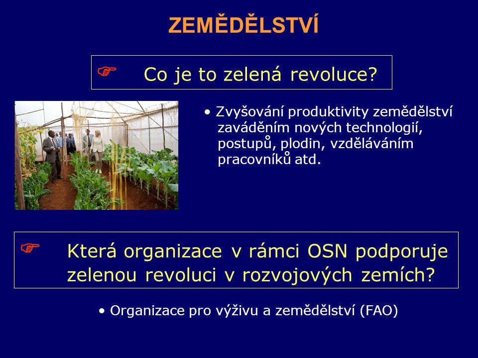  Co je to zelená revoluce.