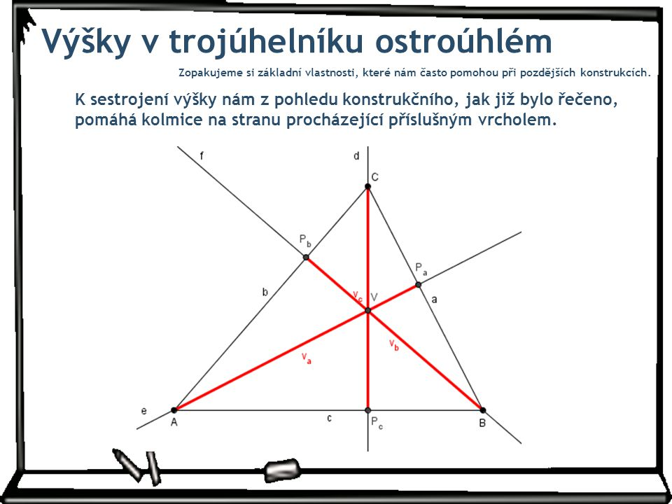 Výsledný trojúhelník Úloha má jedno řešení (v polorovině určené úsečkou AB a bodem C).