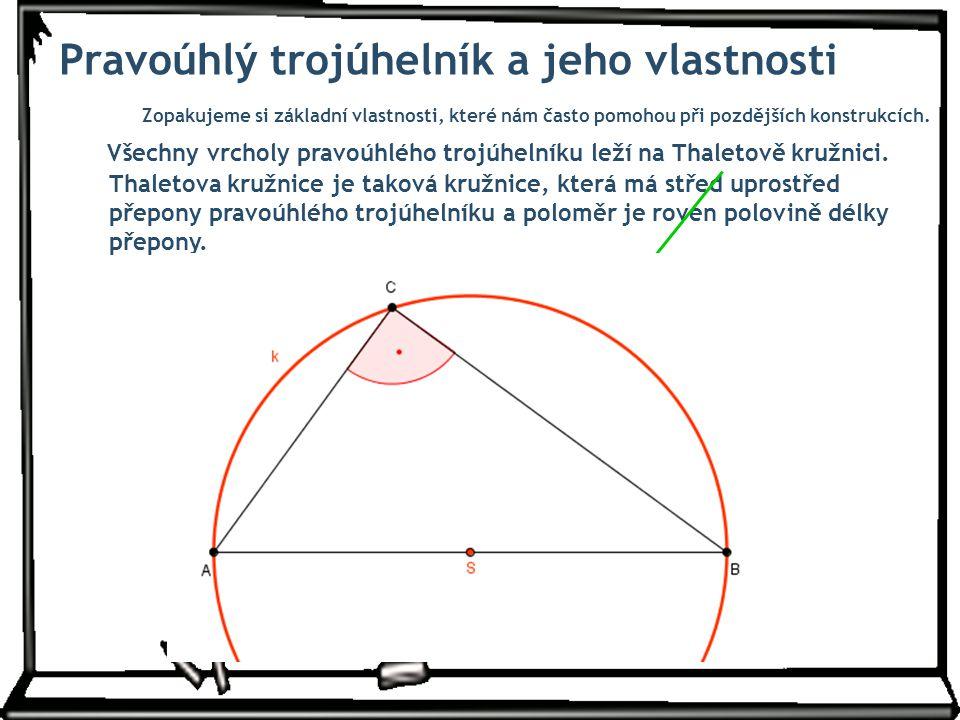 Pár příkladů k procvičení Sestrojte trojúhelník ABC, je-li dáno: |AB|= 5,5 cm; |  ABC|= 120° a výška v b = 3 cm.