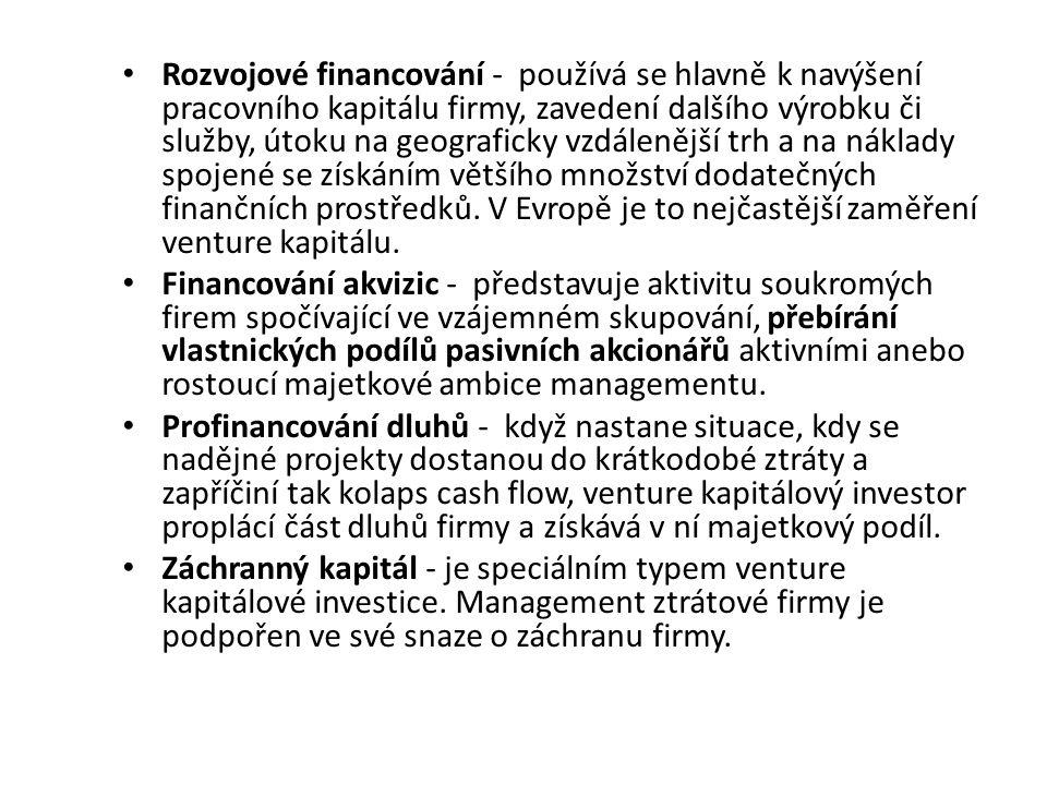 Bankovní úvěr, náklady na kapitál Banky nedbají na to, aby financování podniku slibovalo vysoký zisk.
