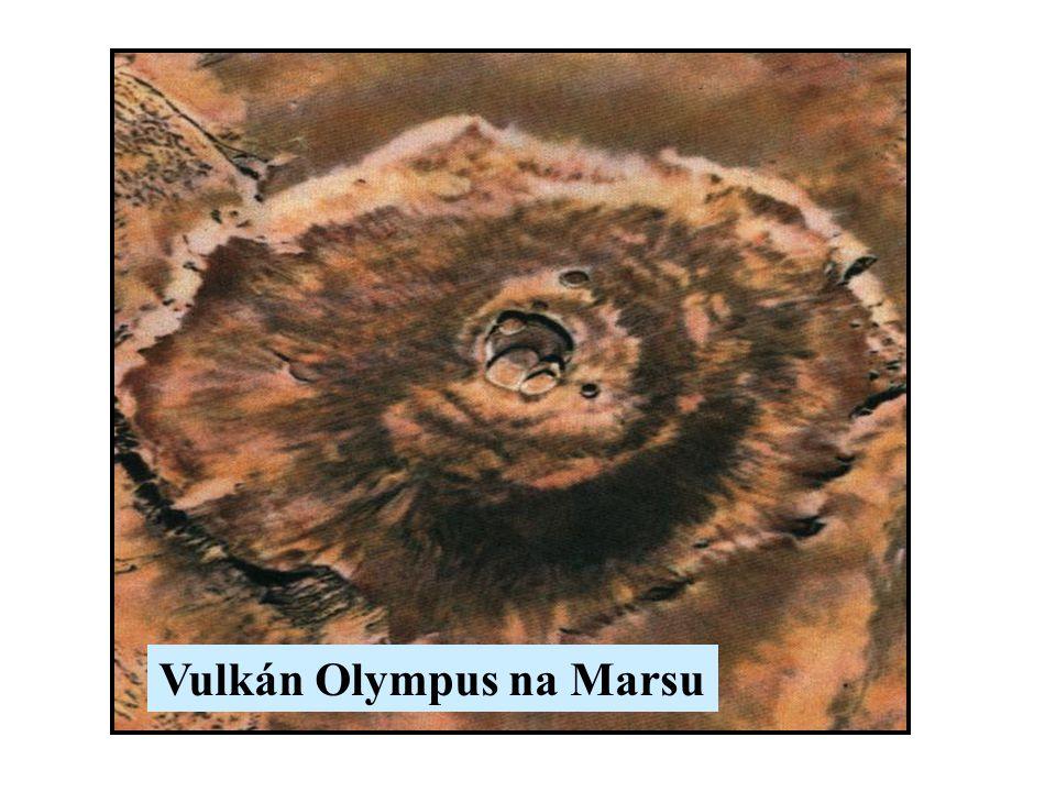 Vulkán Olympus na Marsu
