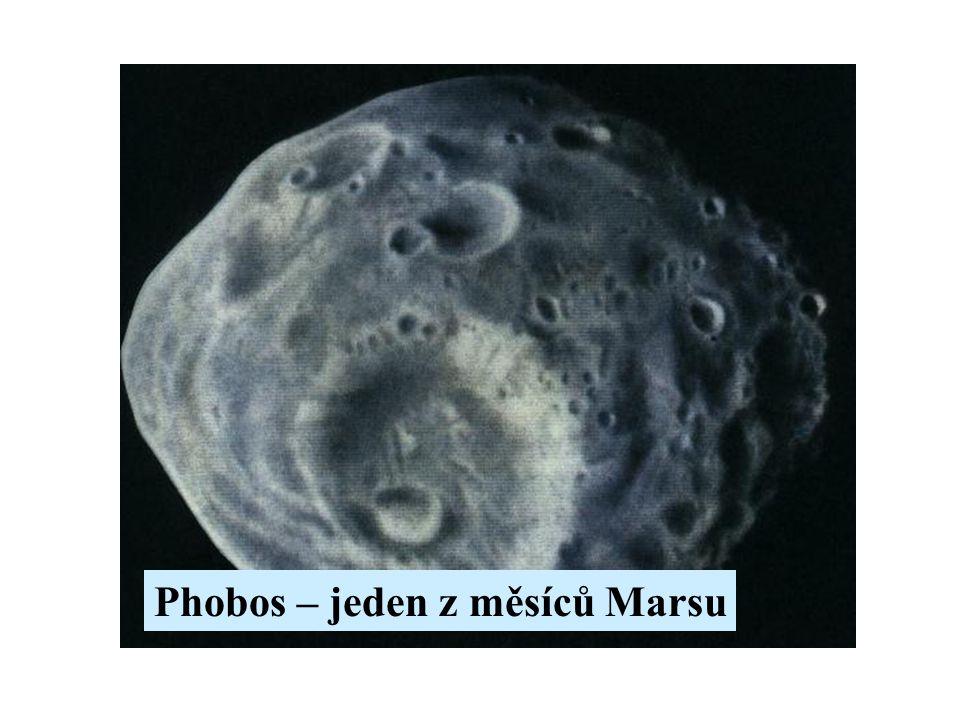 Phobos – jeden z měsíců Marsu
