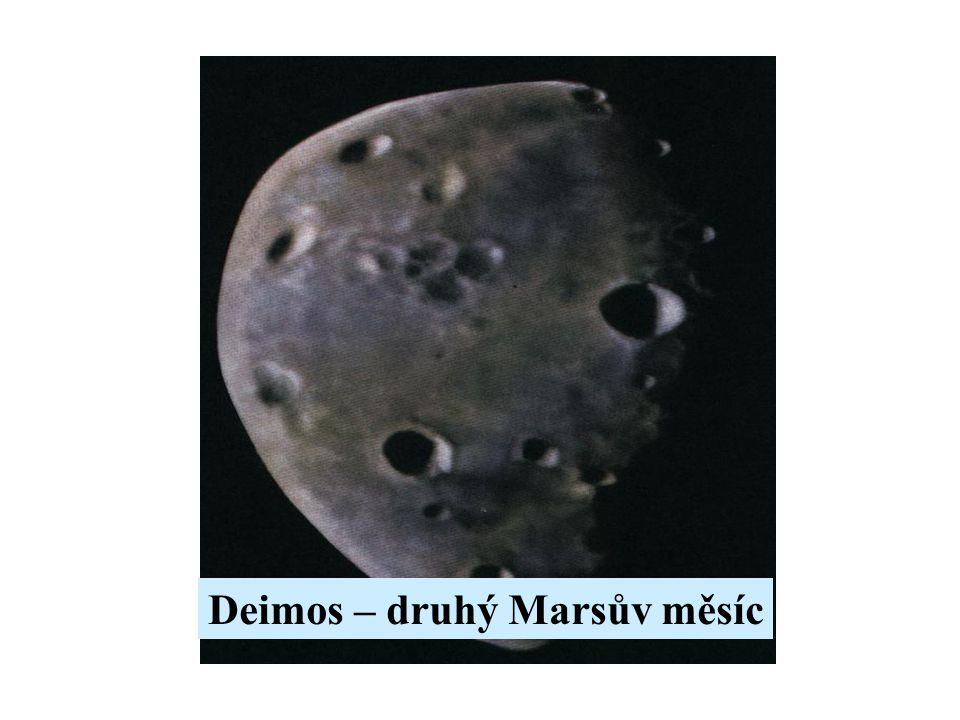 Deimos – druhý Marsův měsíc