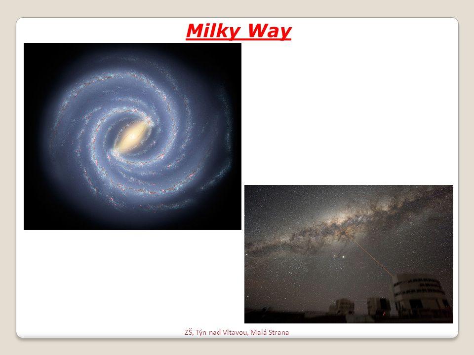ZŠ, Týn nad Vltavou, Malá Strana Milky Way