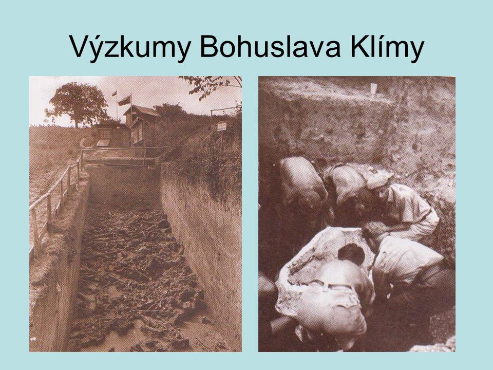 Výzkumy Bohuslava Klímy