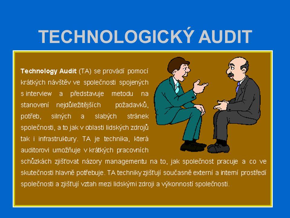 TECHNOLOGICKÝ AUDIT