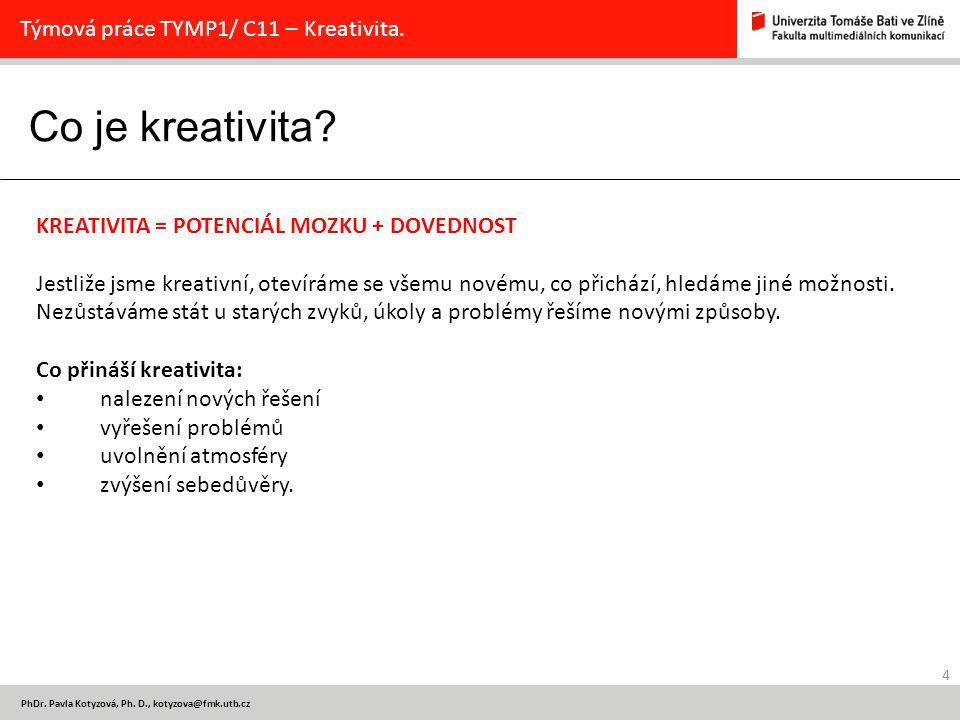Dobrá zpráva 5 PhDr.Pavla Kotyzová, Ph.