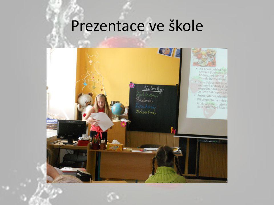 Prezentace ve škole