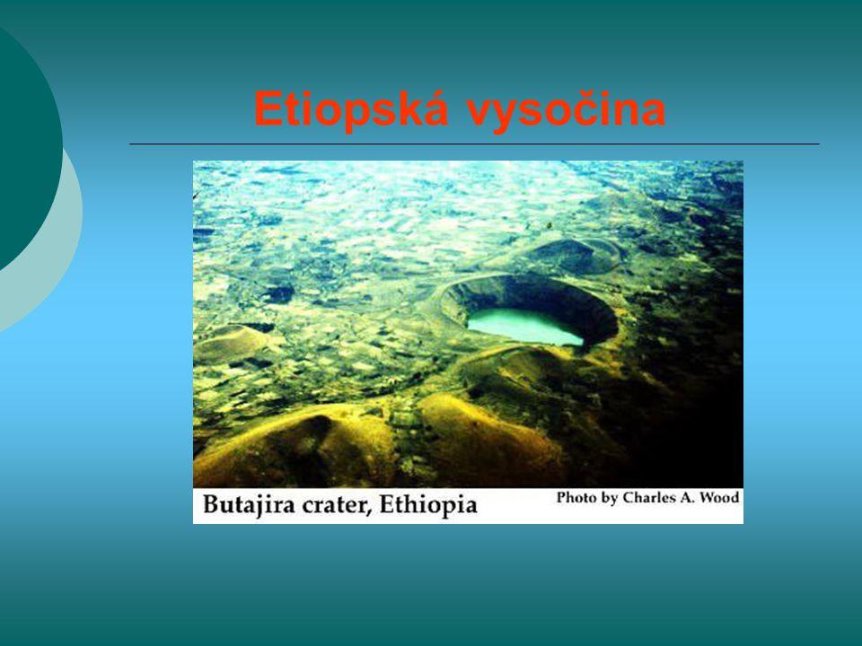 Etiopská vysočina