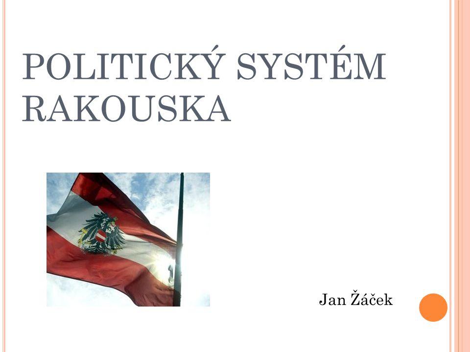 POLITICKÝ SYSTÉM RAKOUSKA Jan Žáček