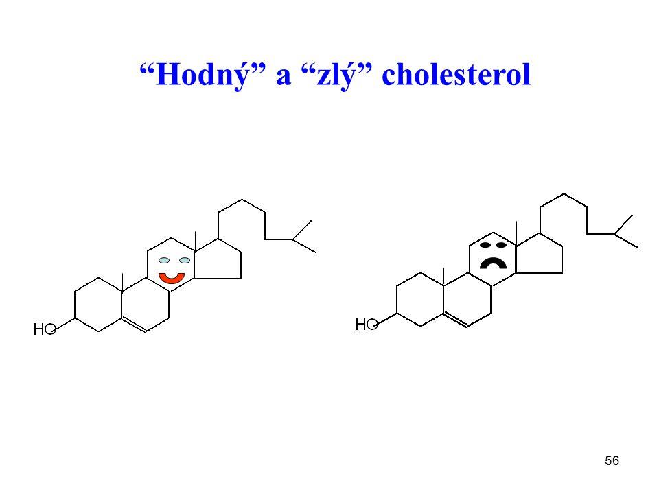 """56 """"Hodný"""" a """"zlý"""" cholesterol"""