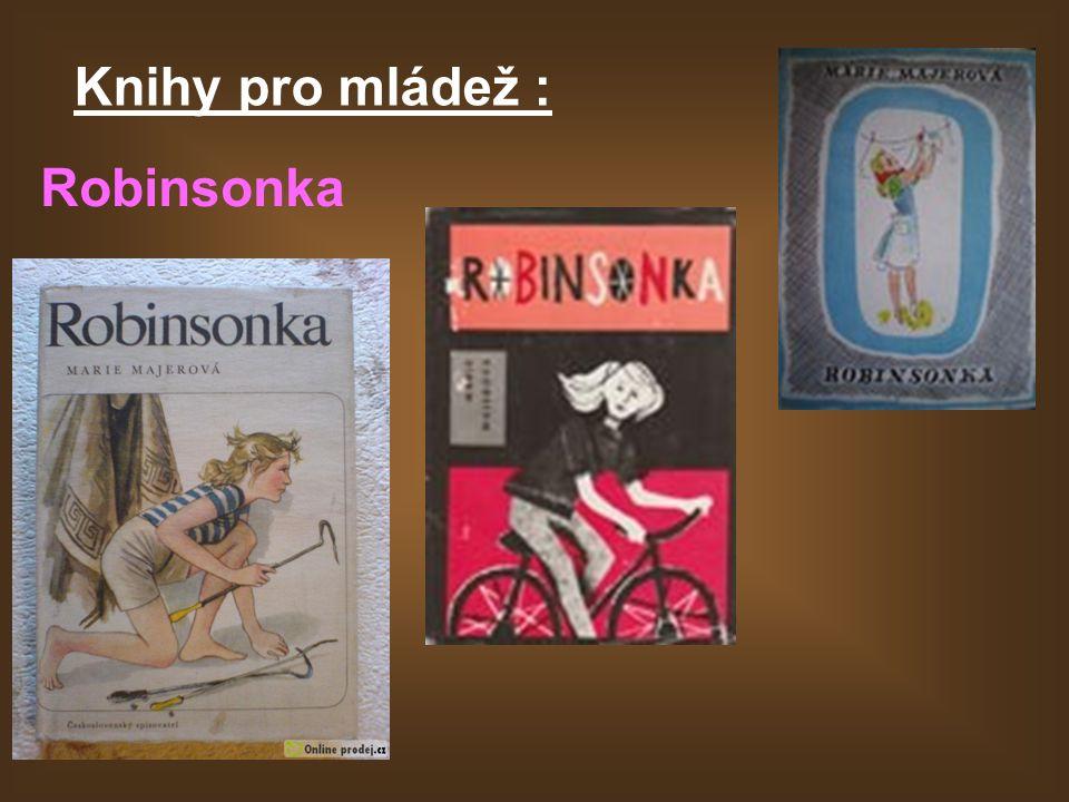 Knihy pro mládež : Robinsonka