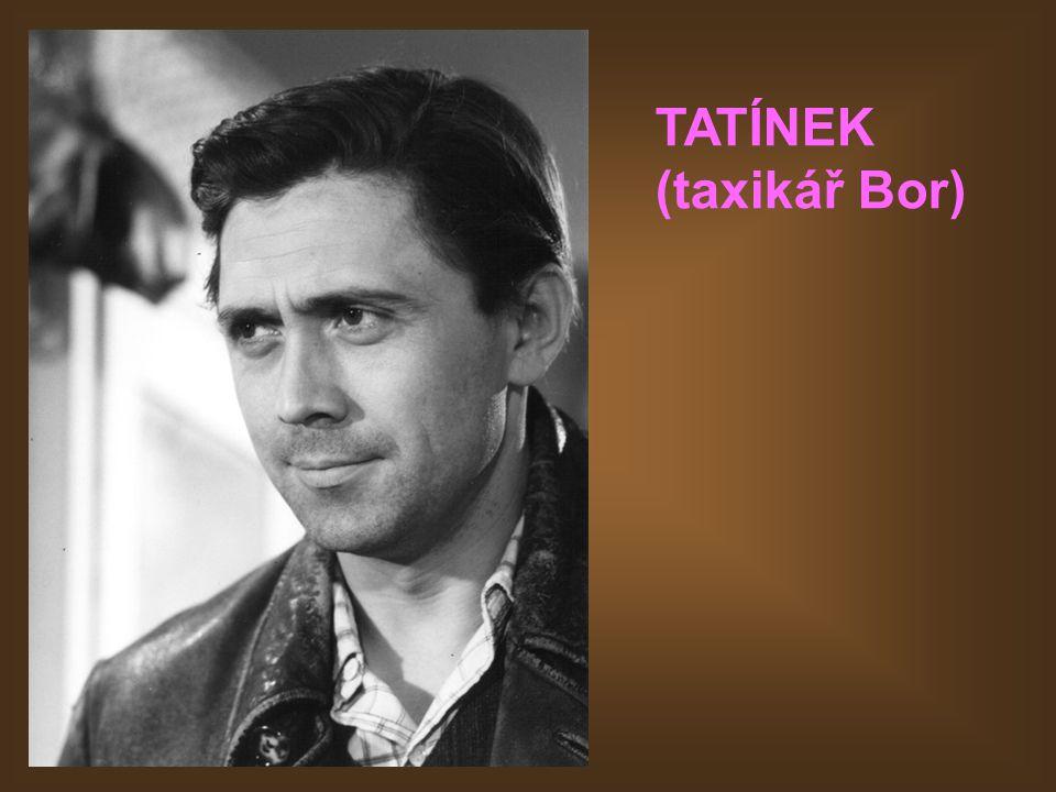 TATÍNEK (taxikář Bor)
