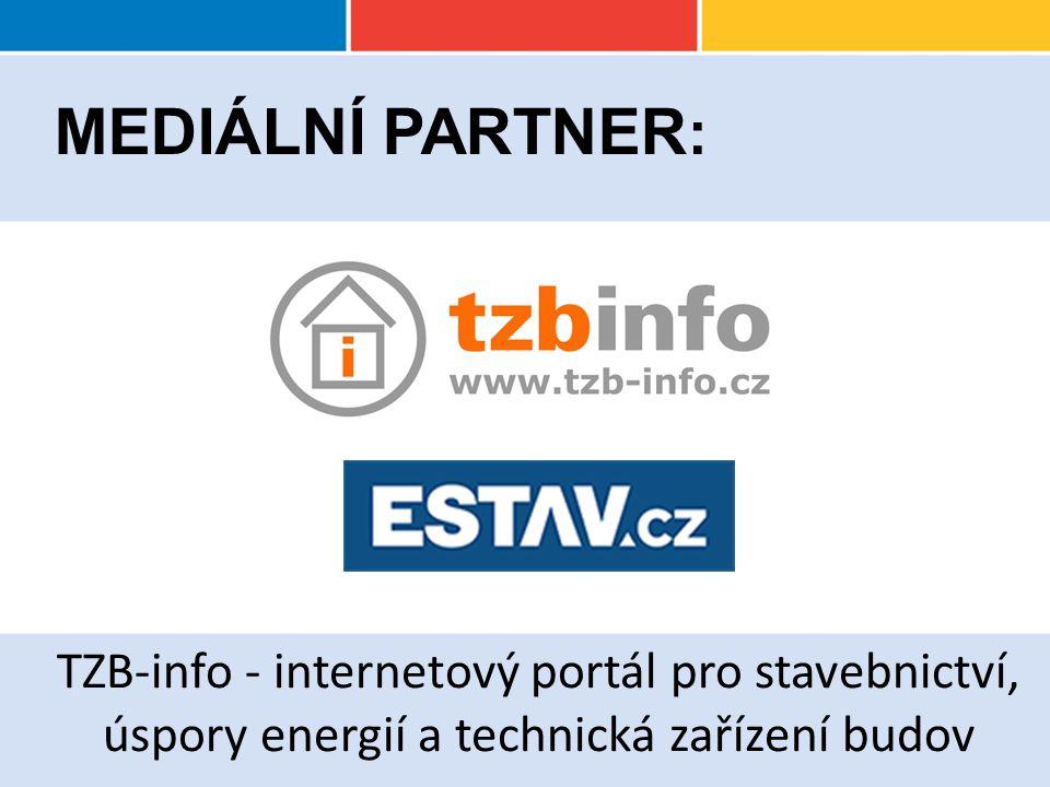 TZB-info - internetový portál pro stavebnictví, úspory energií a technická zařízení budov MEDIÁLNÍ PARTNER :