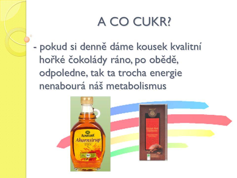 A CO CUKR.