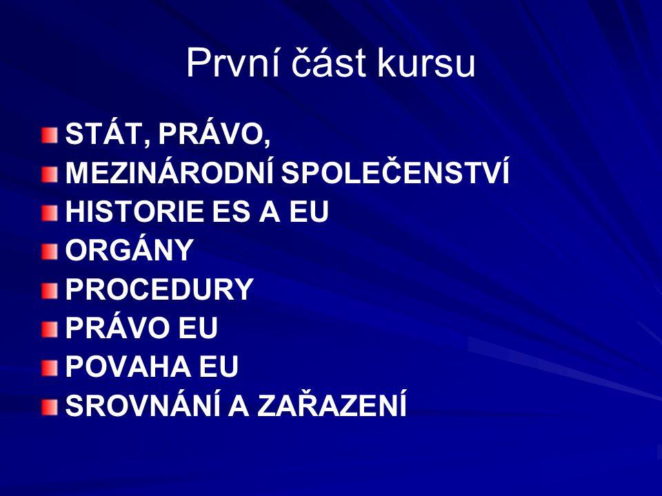 Význam práva EU EU není stále federativním státem Většinou se v praxi uplatňuje právo je právem členských států, v našem případě právo české.