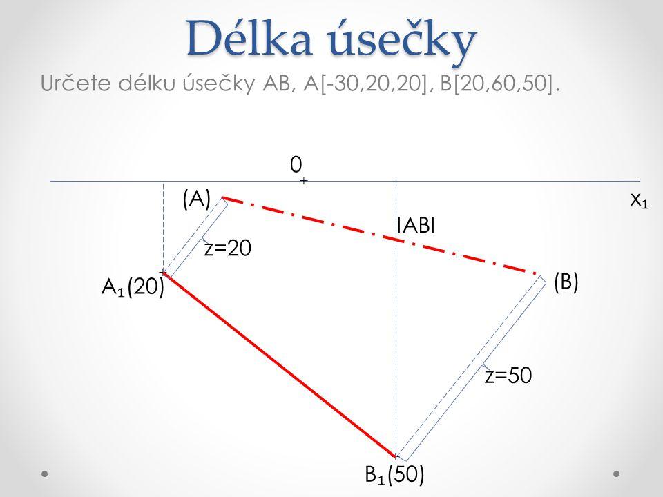 Zobrazení roviny v ₁ (10) v ₁ (40) v ₁ (30) v ₁ (20) p₁p₁ ρ