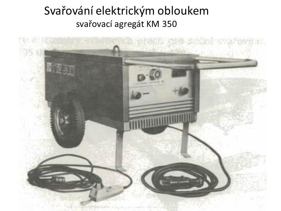 Svařování elektrickým obloukem svařovací agregát KM 350