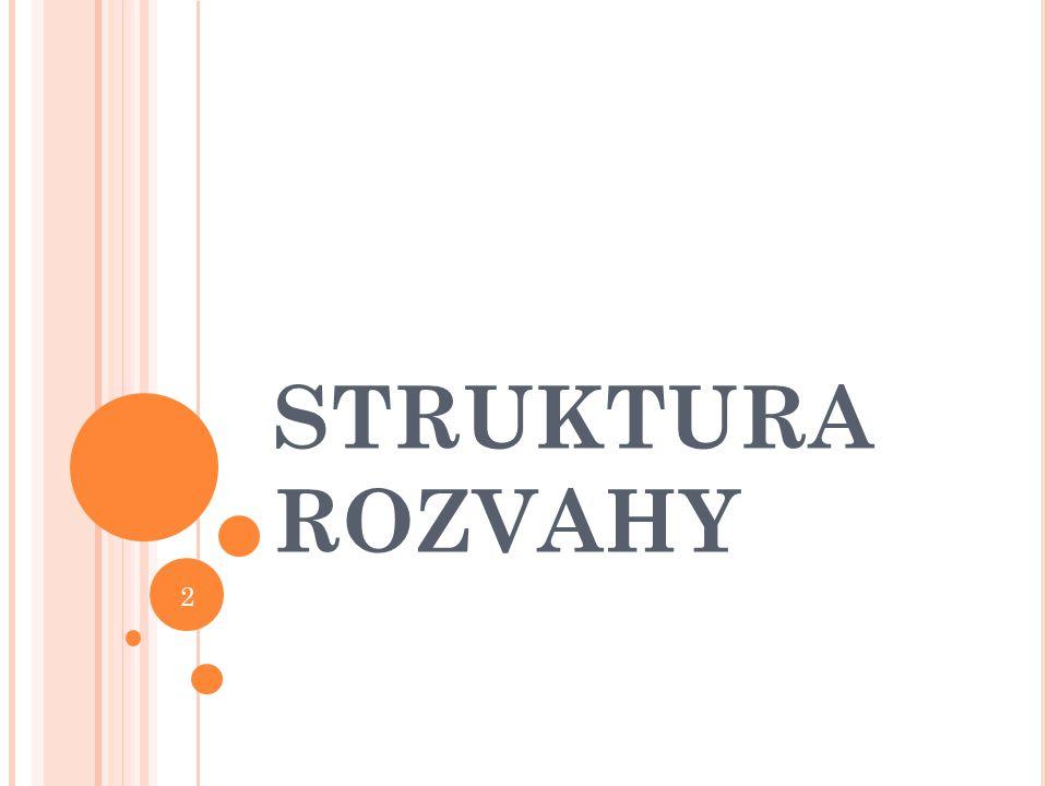 STRUKTURA ROZVAHY 2