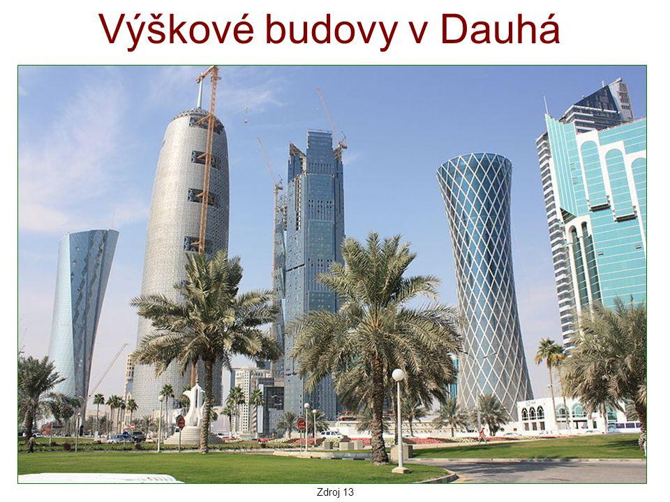 Výškové budovy v Dauhá Zdroj 13