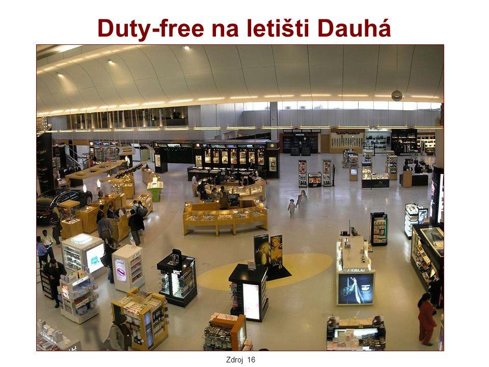 Duty-free na letišti Dauhá Zdroj 16