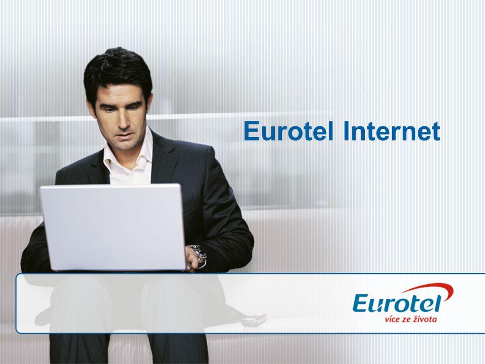 Vyberte si připojení k internetu přesně podle svých potřeb.
