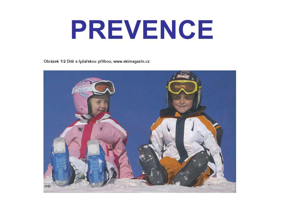 PREVENCE Obrázek 1/2 Dítě s lyžařskou přilbou, www.skimagazin.cz