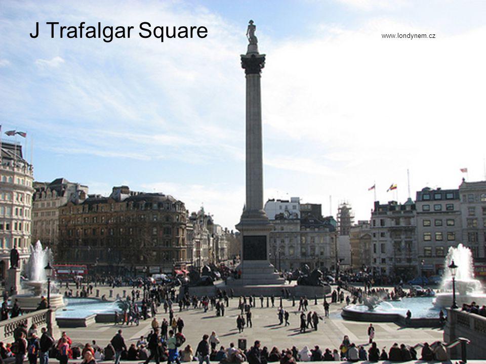 J Trafalgar Square www.londynem.cz