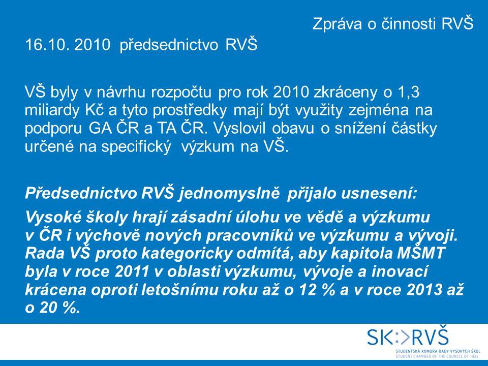 17.schůze SK RVŠ - 23. 9.