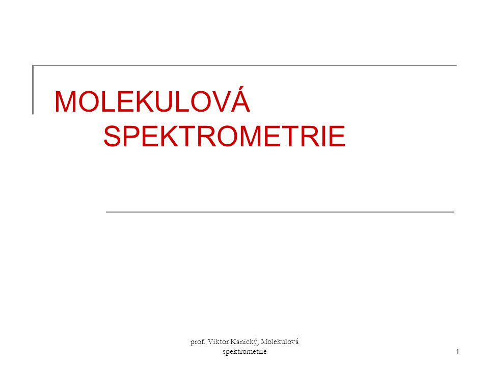 prof.Viktor Kanický, Molekulová spektrometrie 192 5)Sterické vlivy  příklad: v (C=O) v cykl.