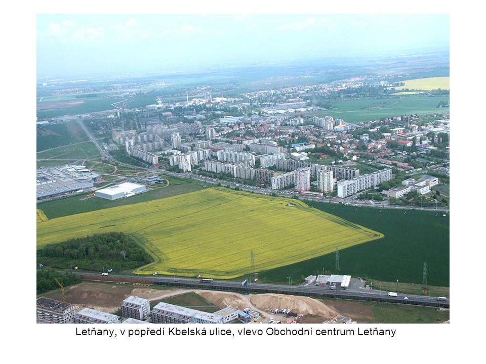 Něco málo leteckých fotek naší Prahy