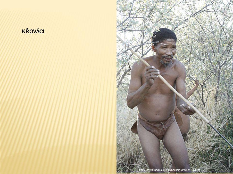 KŘOVÁCI http://cs.wikipedia.org/wiki/Soubor:Botswana_051.jpg