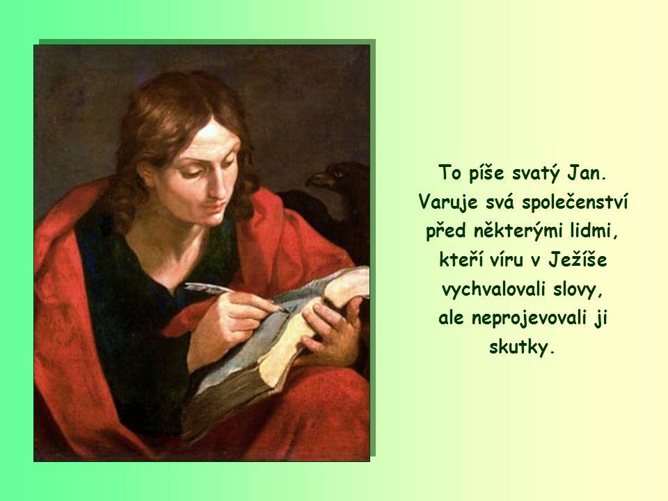 """""""Nemilujme jen slovem a jazykem, ale činem, doopravdy!"""" (1Jan 3,18)"""