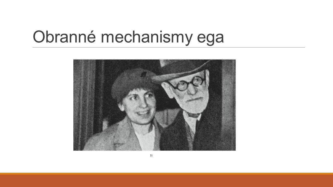 Obranné mechanismy ega 3)