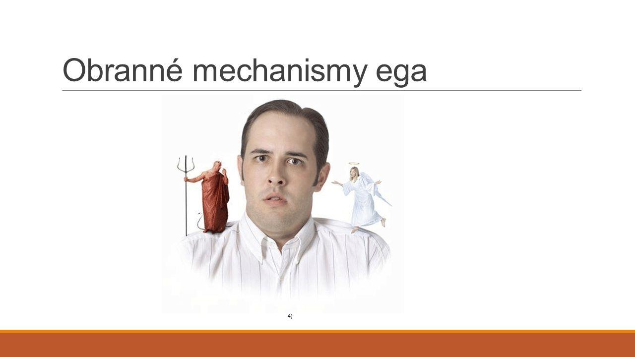 Obranné mechanismy ega 4)