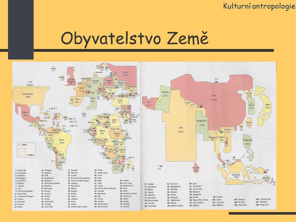 Obyvatelstvo Země Kulturní antropologie