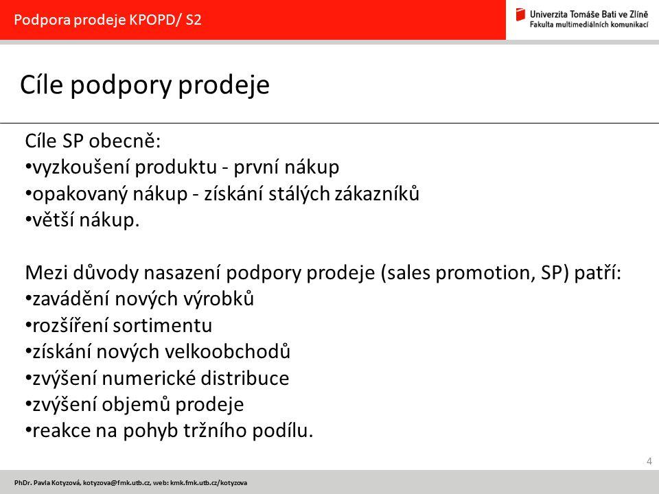 45 PhDr.Pavla Kotyzová, kotyzova@fmk.utb.cz 5.