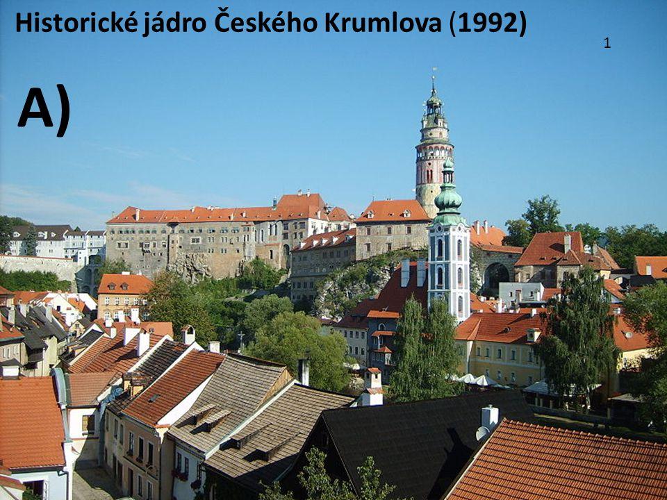1 Historické jádro Českého Krumlova (1992) A)